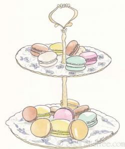 Macaron clipart drawing