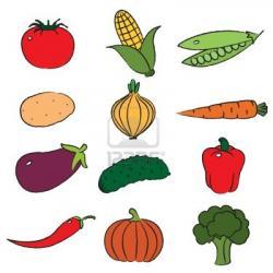 Harvest clipart vegetable gardening