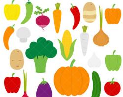 Vegetables clipart veggie