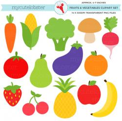 Fruits & Vegetables clipart individual