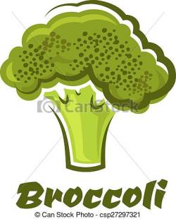 Broccoli clipart green vegetable