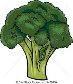 Broccoli clipart vegitable