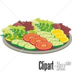 Vegetables clipart cooked vegetable