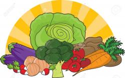 Vegetables clipart fresh produce