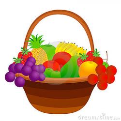 Vegetables clipart fruit basket
