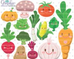 Vegetables clipart vege