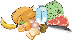 Vegetable clipart meat vegetable