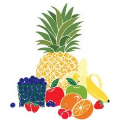 Vegetable clipart mixed fruit