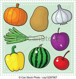 Vegetables clipart nature