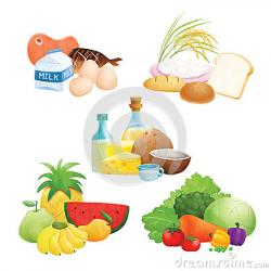 Vegetables clipart protein