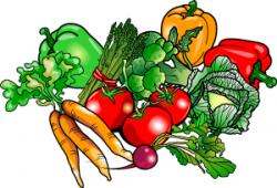 Vegetables clipart side dish
