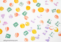 Vegetables clipart stamp