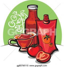 Ketchup clipart tomato sauce