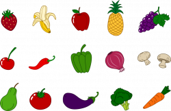 Vegetables clipart vegtable
