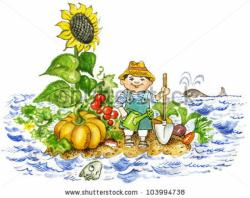 Vegetables clipart vegetable farm