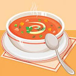 Chicken Soup clipart hot soup