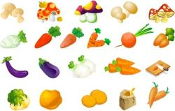 Vegetable clipart fruits and vegetable