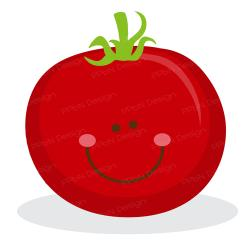 Cherry Tomato clipart cute