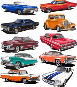 Chevrolet clipart classic car show