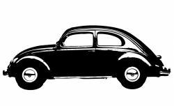 Classic Car clipart volkswagen bug