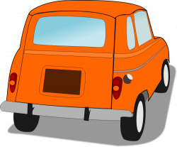 Rear clipart behind