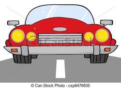 Drawn roadway cartoon