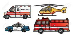 Vehicle clipart emergency vehicle