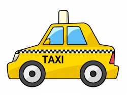 Taxi clipart simple