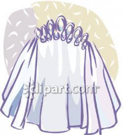 Veil clipart bride veil