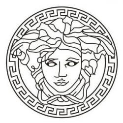 Versace clipart gorgon