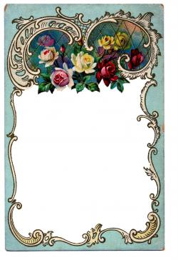 Wiccan clipart victorian scroll