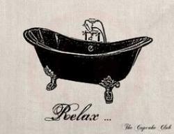 Bathtub clipart old fashioned