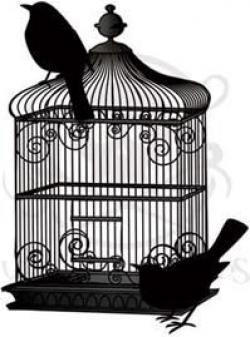 Birdcage clipart vintage birdcage