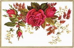 Vintage Flower clipart vintage bouquet
