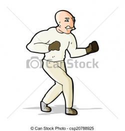 Victorian clipart boxer