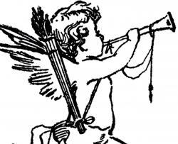 Cupid clipart antique