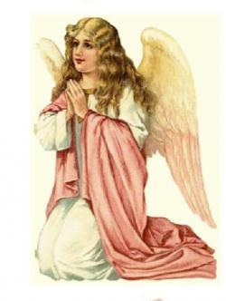 Fallen Angel clipart holy angel
