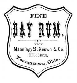 Rum clipart black and white