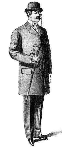 Classy clipart victorian gentleman