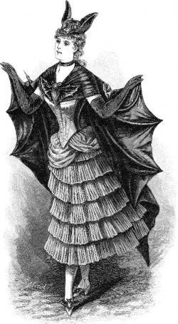 Dracula clipart victorian