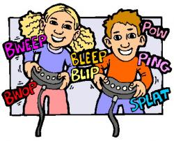 Video Game clipart activity