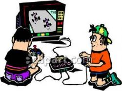 Video Game clipart childhood game