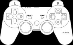 Drawn controller joystick