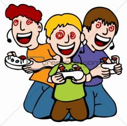 Video Game clipart internet addiction