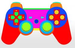 Drawn vireo gamepad