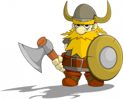 Battle clipart viking warrior