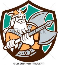 Viking clipart barbarian
