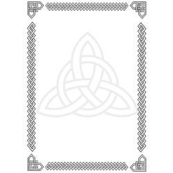 Celt clipart border