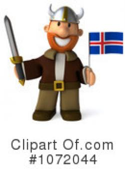 Viking clipart iceland