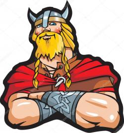 Warrior clipart scandinavian